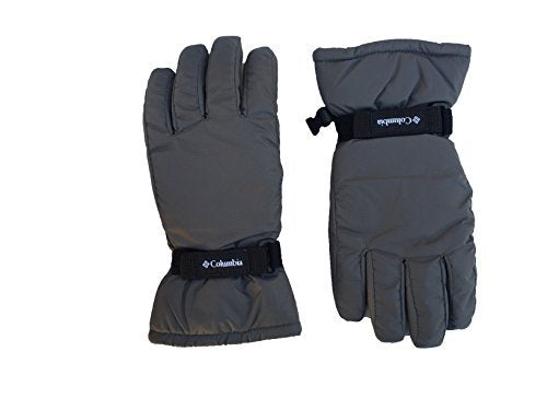 Columbia Boys Y Core Gloves (Small, Grey (1813111030) / Black)