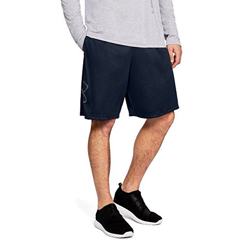 Under Armour Tech Graphic Shorts, Academy (409)/Steel, Small