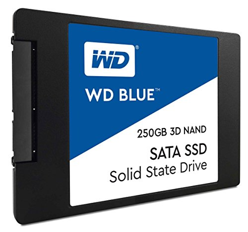 "WD Blue 3D NAND 250GB PC SSD - SATA III 6 Gb/s, 2.5""/7mm - WDS250G2B0A"