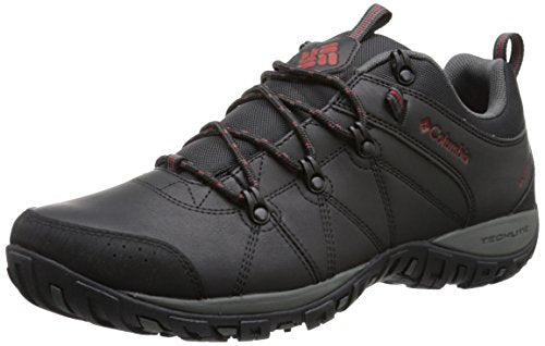 Columbia Men's Peakfreak Venture Waterproof Hiking Shoe, Black, Gypsy, 11 D US