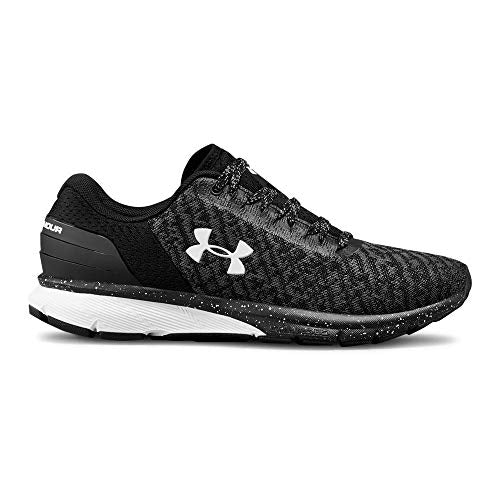 Under Armour Women's Charged Escape 2 Running Shoe, Black (002)/White, 9.5