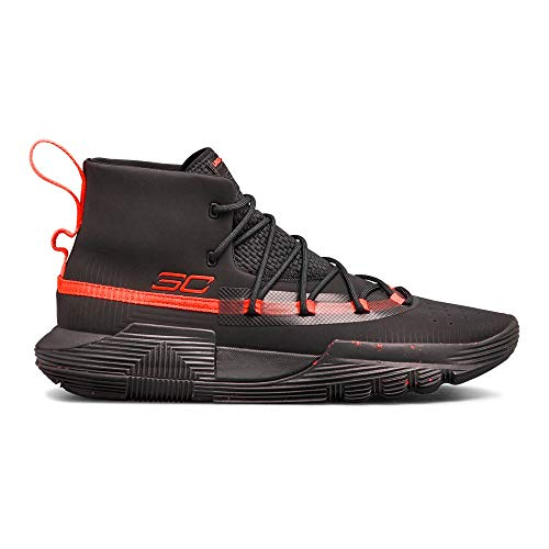 Under Armour Men's SC 3ZER0 II Basketball Shoe, (002)/Black, 9.5