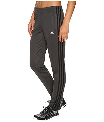 adidas Women's T10 Pants, Dary Grey/Black, Large