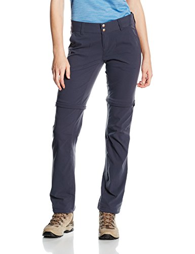 Columbia Women's Saturday Trail II Convertible Pants,  India Ink,  4/Long inseam