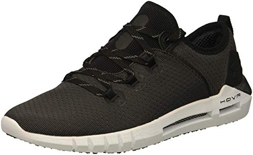 Under Armour Women's HOVR SLK Sneaker, Black (001)/White, 8.5