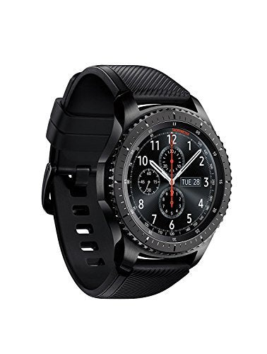SAMSUNG GEAR S3 FRONTIER Smartwatch 46MM - Dark Gray (Certified Refurbished)