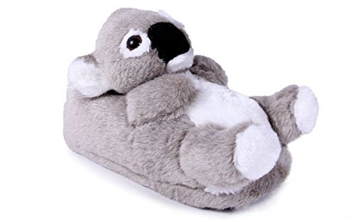 Happy Feet 9033-3 - Koala - Large Animal Slippers