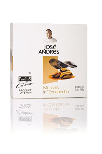 Jose Andres Foods Mussels in Escabeche, 5.3 Ounce