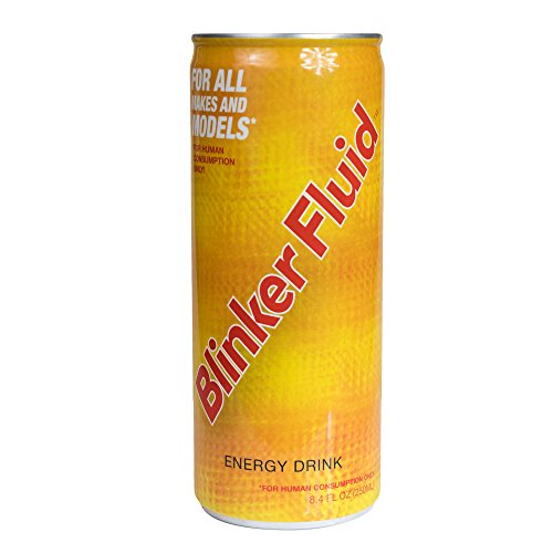 Blinker Fluid Energy Drink – Caffeine, Taurine, Vitamin B6, B12, Niacin – Sports Nutrition For Long Lasting Energy – (250 mL, 4 Pack)