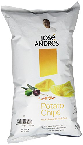 Jose Andres Foods Potato Chips, 6.7 Ounce
