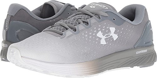 Under Armour Women's Charged Bandit 4 Running Shoe, White (102)/Steel, 10