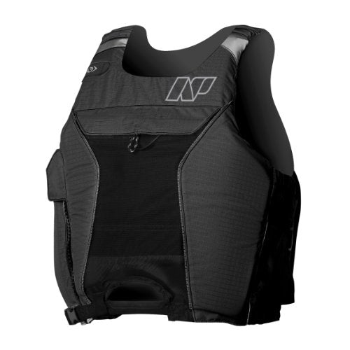 NP Surf High Hook Flotation Vest, Black/Silver, X-Large/XX-Large