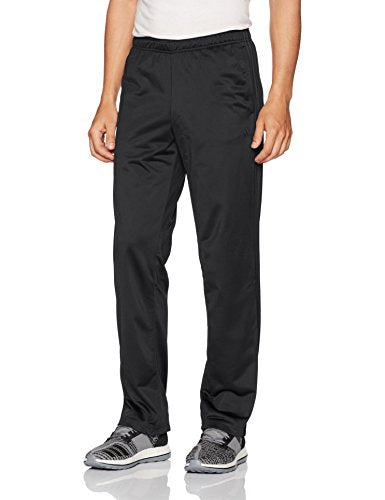 adidas Men's Athletics Essential Tricot 3-Stripe Pants, Black/Black, X-Small