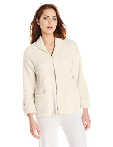 Casual Moments Women's Bed Jacket, Cream, X-Large