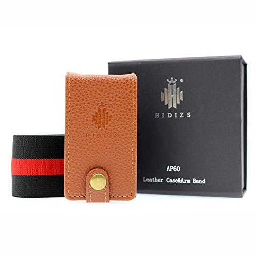 HIDIZS Leather Case for AP60 Ⅱ Bluetooth MP3 Player High Resolution Music Player Lossless Digital Audio Player