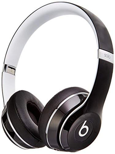 Beats Solo2 Wired On-Ear Headphone, Luxe Edition - Black