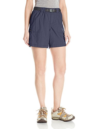 Columbia Women's Sandy River Cargo Short, Nocturnal/Grill, Small