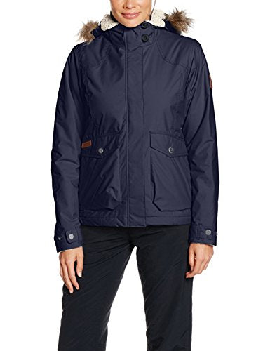 Columbia Women's Grandeur Peak Jacket, India Ink, X-Large