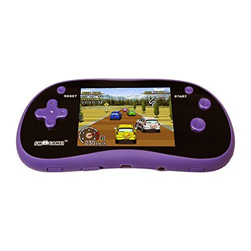 "I'm Game Handheld Game Player With 3"" Color Display and 180 Games- Portable Gaming Console – Purple"