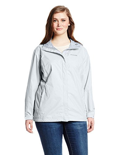Columbia Women's Plus-Size Arcadia Ii Plus Size Jacket Outerwear, White, White, 2X