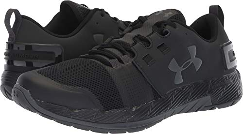 Under Armour Men's Commit TR X NM Sneaker, Black (001)/Charcoal, 8.5