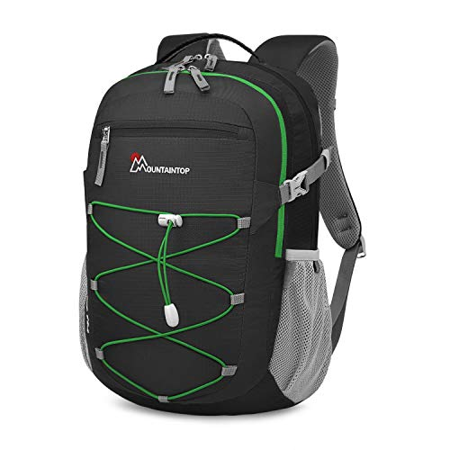 MOUNTAINTOP 40 Liter Unisex Hiking/Camping Backpack (Black-6259)