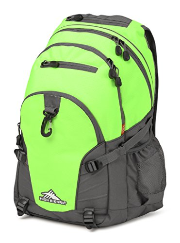 High Sierra Loop Backpack, Lime/Slate