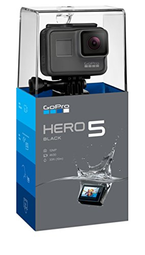 GoPro HERO5 Black — Waterproof Digital Action Camera for Travel with Touch Screen 4K HD Video 12MP Photos
