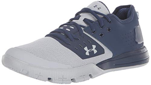 Under Armour Men's Charged Ultimate 3 Sneaker, Academy (403)/Overcast Gray, 7