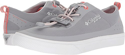 Columbia PFG Women's Dorado CVO PFG Sneaker, Steam, melonade, 8.5 Regular US