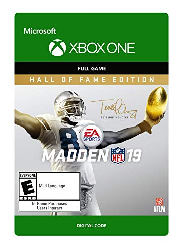 Madden NFL 19: Hall of Fame Edition - Xbox One [Digital Code]