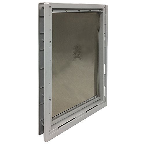 "Ideal Pet Products Designer Series Plastic Pet Door with Telescoping Frame, Super Large, 15"" x 20"" Flap Size"