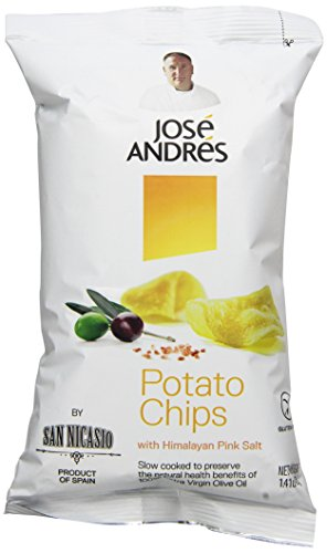 Extra Virgin Olive Oil Potato Chips by José Andrés Foods