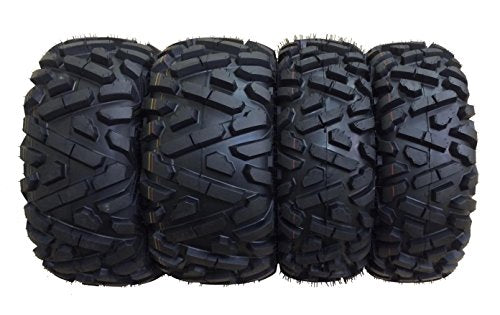 Set of 4 WANDA ATV Tires AT 26x9-12 Front & 26x11-12 Rear /6PR P350 - 10166/10168 …