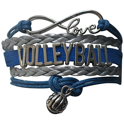 Infinity Collection Volleyball Bracelet- Girls Volleyball Jewelry - Perfect Volleyball Gifts for Players
