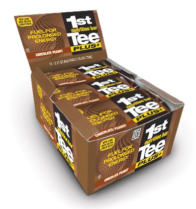 1st Tee Plus+ Chocolate Peanut Bars