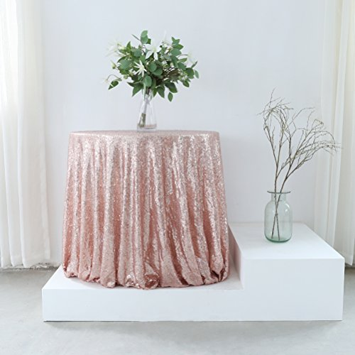GFCC 72 inch Sequin Tablecloth Christmas Glitter Cloth Wedding Party Birthday Event Party Supplies