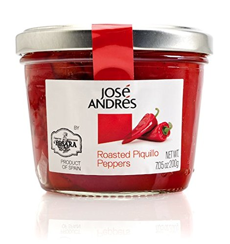 Jose Andres Roasted Piquillo Peppers, 7.05 Ounce