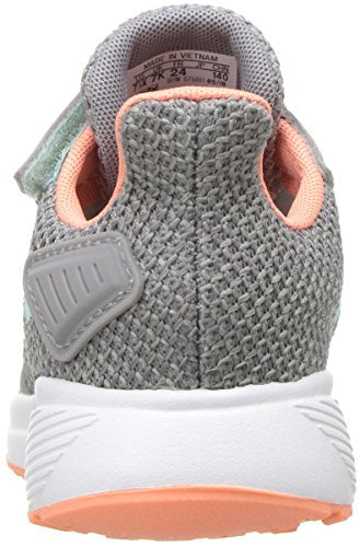 adidas Performance Baby Duramo 9 Running Shoe, Grey Heather/Clear Mint/Granite, 6K M US Toddler