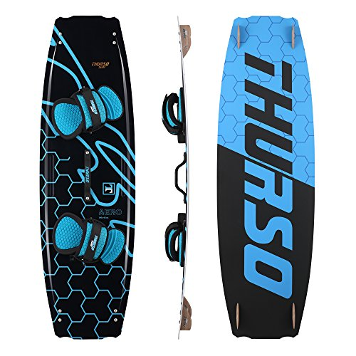 THURSO SURF Kiteboard 140X42 BLACK&BLUE