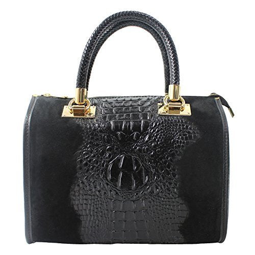 Chicca Borse Woman Handbag genuine leather made in Italy