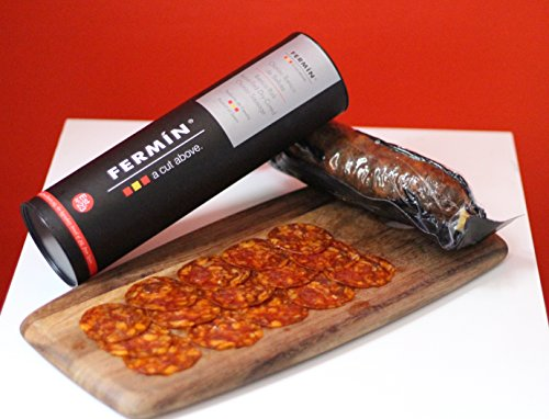 Chorizo Iberico de Bellota (acorn-fed) imported from Spain, 1 lb
