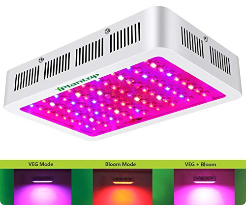 iPlantop LED Grow Light 1000w,(15W LED) 3 Chips LED Plant Growing Lamp Full Spectrum with Adjustable Rope for Indoor Plants Veg and Flower/Replace HPS Grow Light Fixture