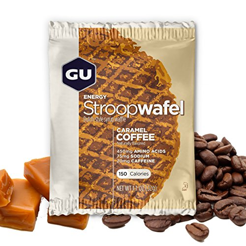 GU Energy Labs Stroopwafel Organic Sports Nutrition Waffle