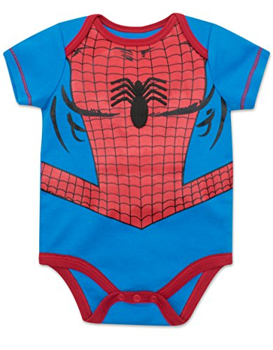9ed126a04 Marvel Baby Boys' 5 Pack Onesies - The Hulk, Spiderman, Iron Man and ...