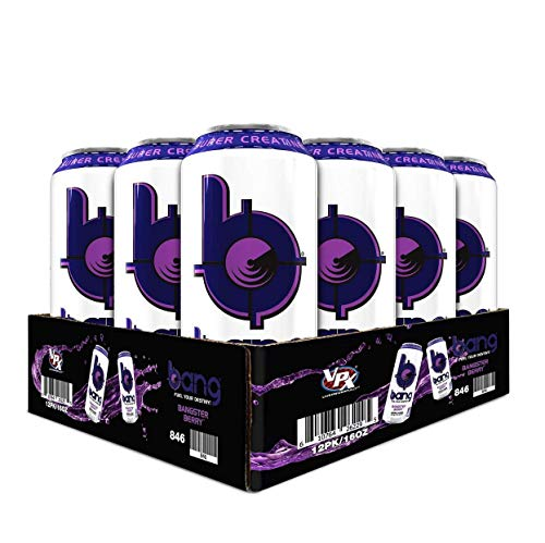 VPX Bang Bangster Berry, 16 Ounce, Case of 12