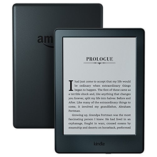 "Kindle E-reader - Black, 6"" Display, Wi-Fi, Built-In Audible - Includes Special Offers"