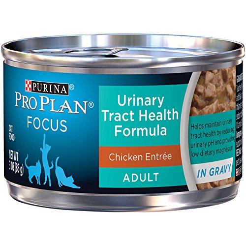 Purina Pro Plan Focus Urinary Tract Health Formula Chicken Entree In Gravy Adult Wet Cat Food - (24) 3 Oz. Pull-Top Cans