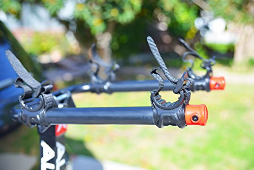 Allen Sports Deluxe Locking Quick Release 2-Bike Carrier for 2 in. & 1 4 in. Hitch