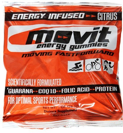 Sports Nutrition Movit Energy Gummies for Athletes, (Pack of 24)